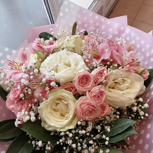 Сборный букет роз