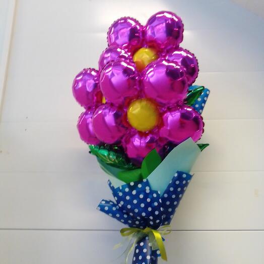 Букет из шаров фольгированных