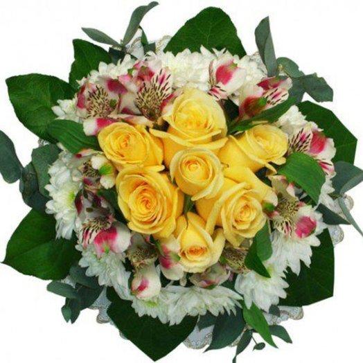 Букет Веселый день: букеты цветов на заказ Flowwow