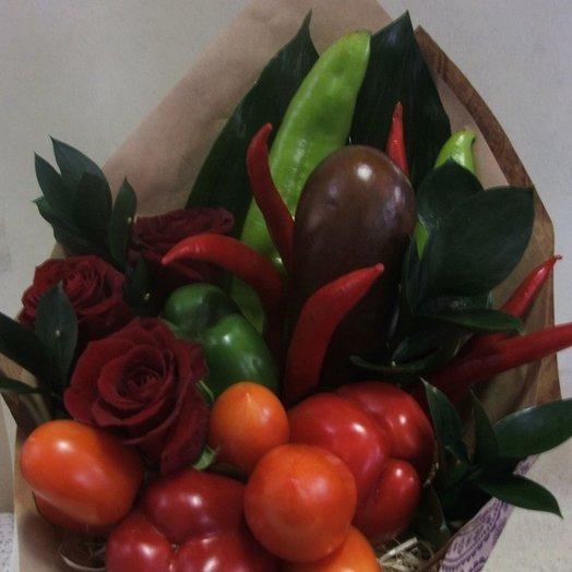 Мужской букет Острый перец: букеты цветов на заказ Flowwow