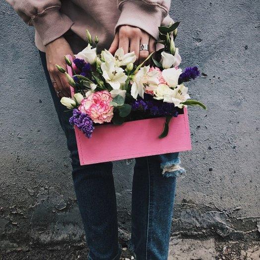 Цветочный ящик Ассоль: букеты цветов на заказ Flowwow