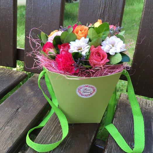 Трапеция малая «Летние грезы»: букеты цветов на заказ Flowwow