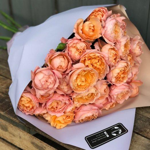 """Букет """"Персиковое мороженное"""": букеты цветов на заказ Flowwow"""