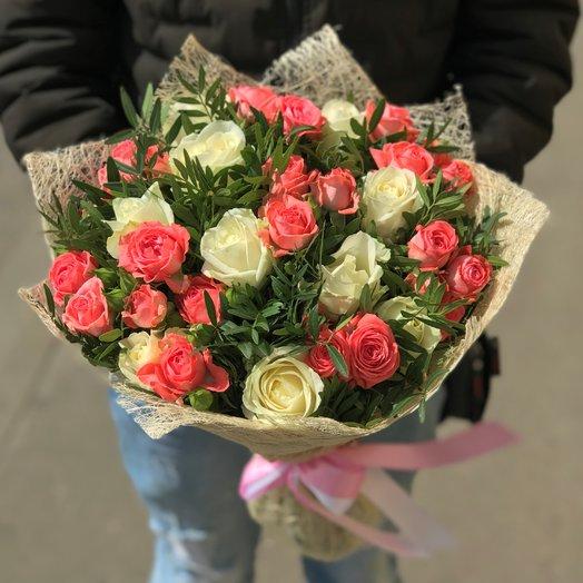 Розы. Кустовые розы. N143