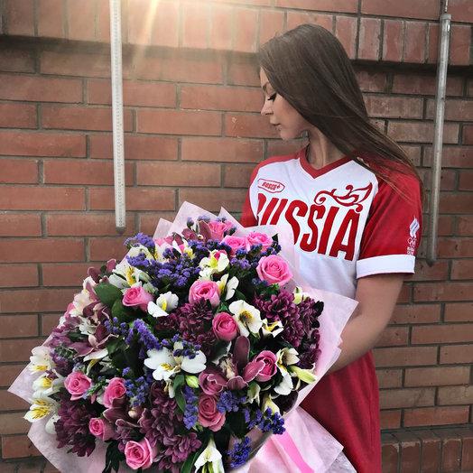 Сборный: букеты цветов на заказ Flowwow