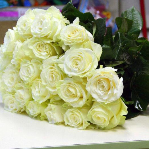 Букет из 25 роз Эквадор Мондиаль: букеты цветов на заказ Flowwow