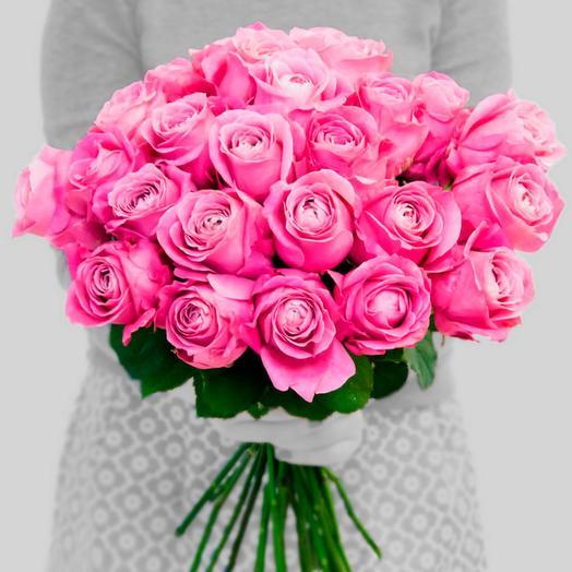 Всё для любимой, ароматная пионовая роза 70см: букеты цветов на заказ Flowwow