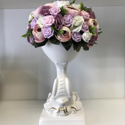 Французское мыло: букеты цветов на заказ Flowwow