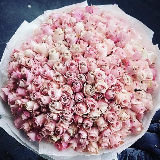 Настоящая любовь: букеты цветов на заказ Flowwow