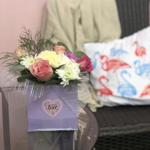 Мини 10: букеты цветов на заказ Flowwow
