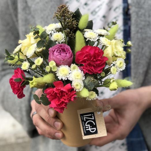 Cup 4: букеты цветов на заказ Flowwow