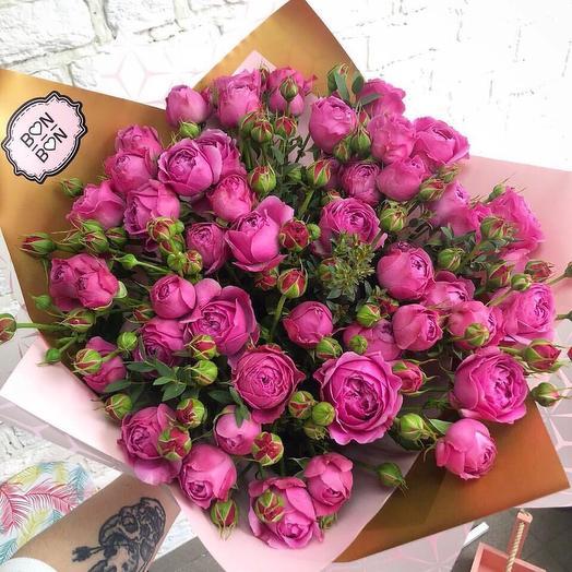 Любимица Мисти Баблз: букеты цветов на заказ Flowwow