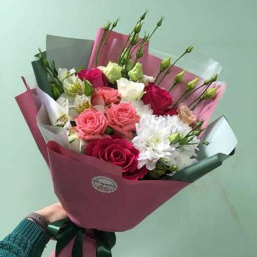 Букет «ягодка»: букеты цветов на заказ Flowwow
