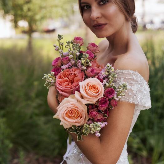 "Букет невесты ""Роза"": букеты цветов на заказ Flowwow"
