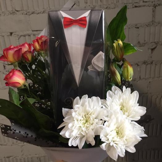 Мужской чайный: букеты цветов на заказ Flowwow