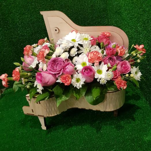 РОЯЛЬ С ЦВЕТАМИ: букеты цветов на заказ Flowwow