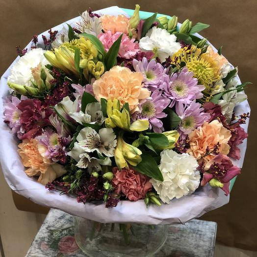 Невероятный букет: букеты цветов на заказ Flowwow