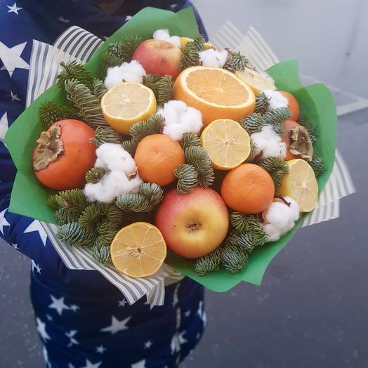 Новогодние витаминки: букеты цветов на заказ Flowwow