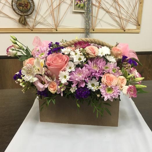 Композиция «Нежный шелест»: букеты цветов на заказ Flowwow