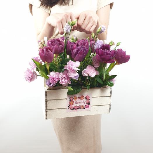 В предвкушении весны: букеты цветов на заказ Flowwow