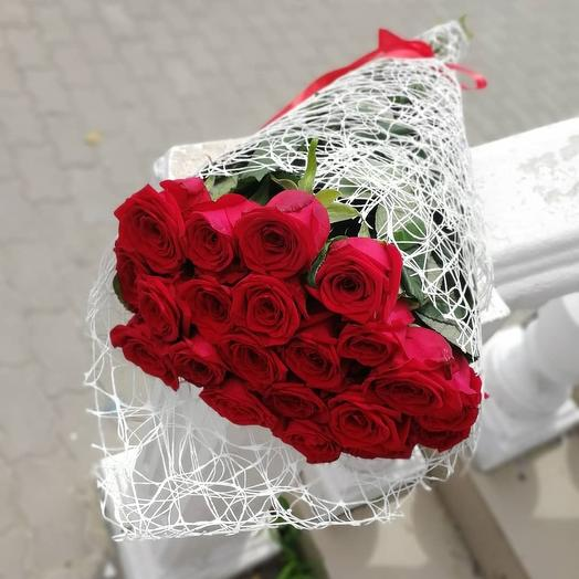 ✅ Букет красных роз