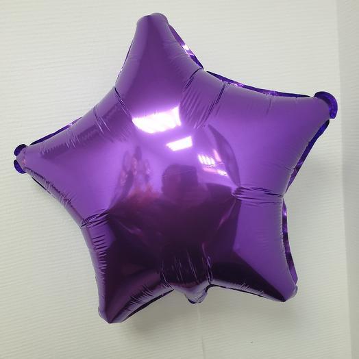 Звезда фиолетовая: букеты цветов на заказ Flowwow