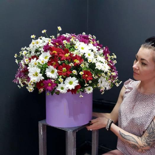 Микс хризантем: букеты цветов на заказ Flowwow