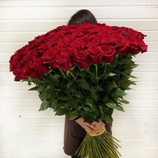 101 Імпортна троянда 90 см