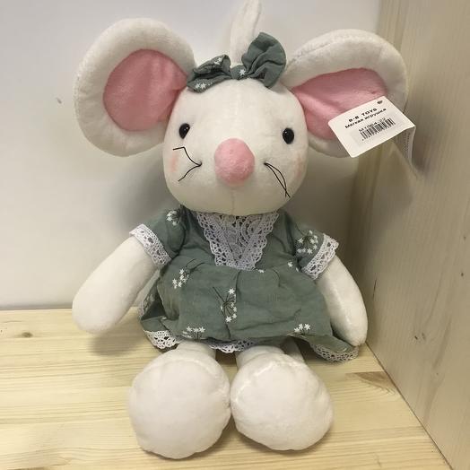 Мышка в платье с бантиком: букеты цветов на заказ Flowwow