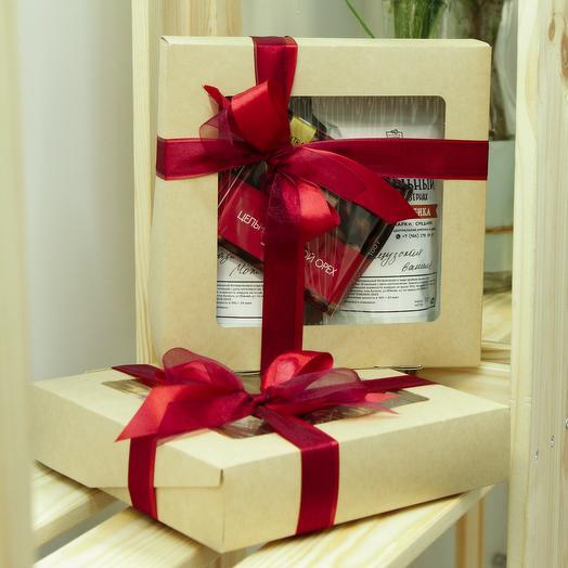 Подарочный набор кофе/шоколад