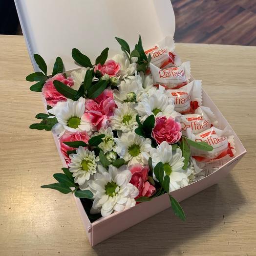 Цветы в коробке 8