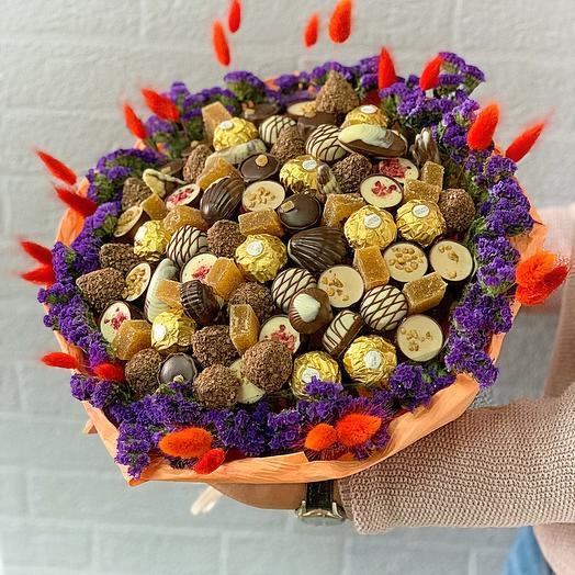 Букет из Микса конфет