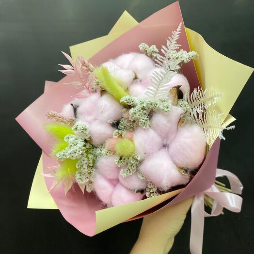 Букет нежно - розовый