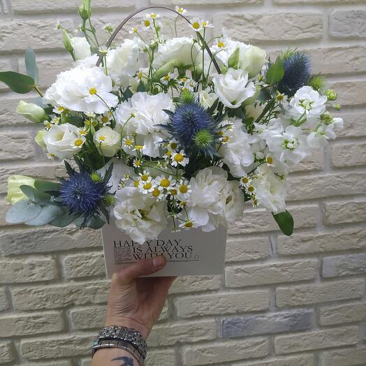 Цветы в сумочке 🙂