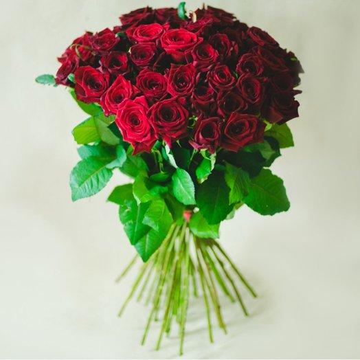 Букет из краных роз: букеты цветов на заказ Flowwow