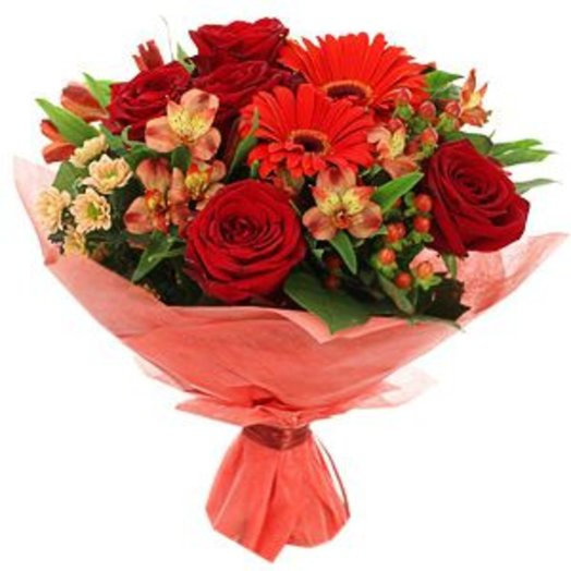 Shades of red: flowers to order Flowwow
