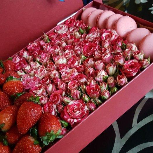 Сладкий день: букеты цветов на заказ Flowwow