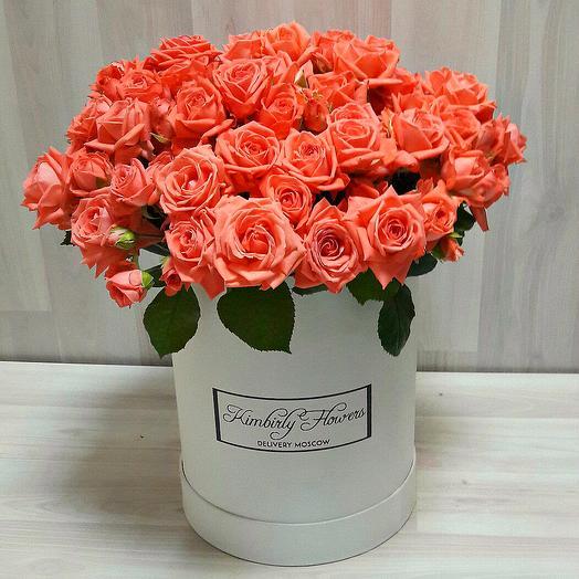 Облако розовых роз: букеты цветов на заказ Flowwow