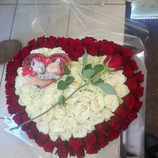 Я тебя люблю !!!: букеты цветов на заказ Flowwow