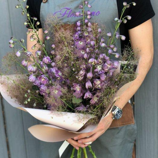 """Букет """"Дельфиния"""": букеты цветов на заказ Flowwow"""