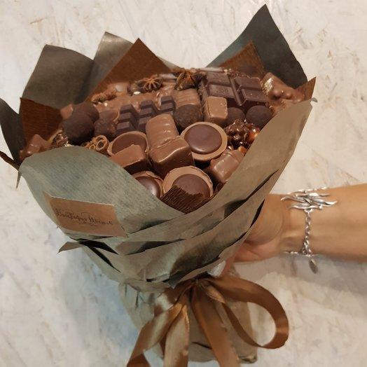 Букет шоколадный: букеты цветов на заказ Flowwow