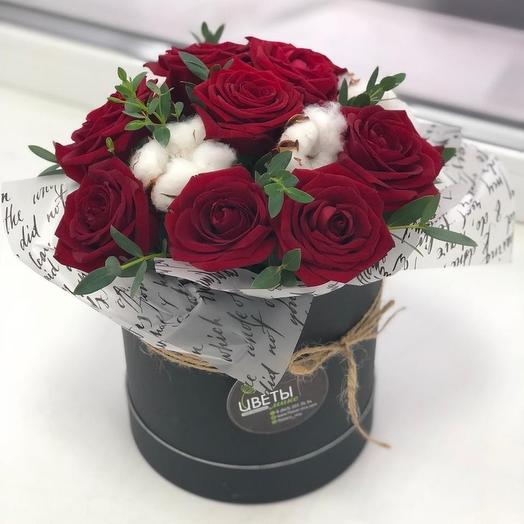 Шляпка с хлопком: букеты цветов на заказ Flowwow