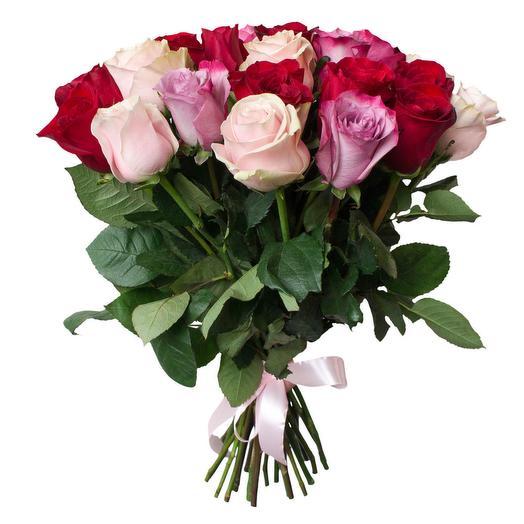 """""""Черничка"""" букет из 15 роз Эквадор: букеты цветов на заказ Flowwow"""