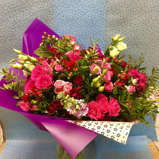Клубок страстей: букеты цветов на заказ Flowwow