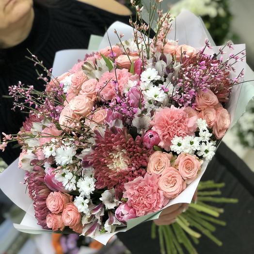 Весеннее пробуждение: букеты цветов на заказ Flowwow