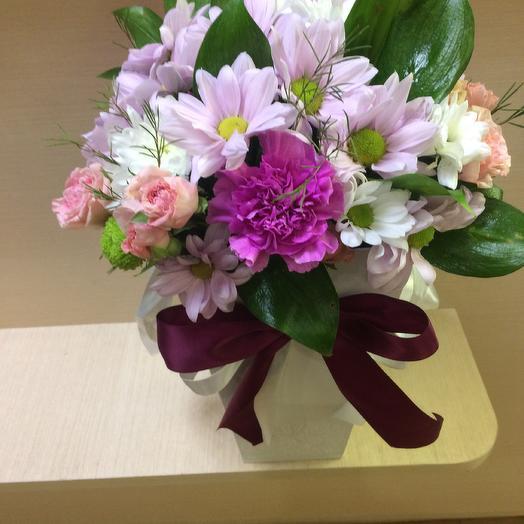 "Конус ""Элегия"": букеты цветов на заказ Flowwow"