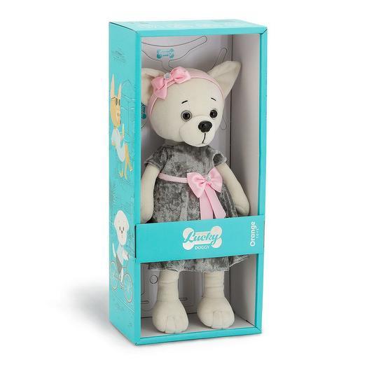 Коллекционная игрушка Lucky Doggy Благородный серый: букеты цветов на заказ Flowwow