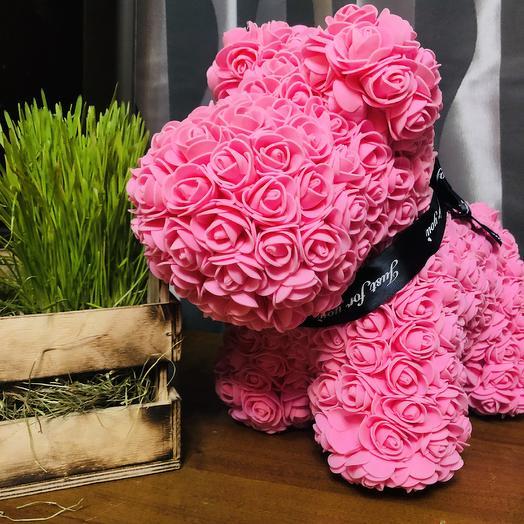 Собака из роз: букеты цветов на заказ Flowwow