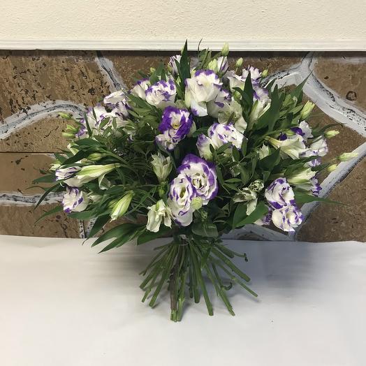Сиреневая лазурь: букеты цветов на заказ Flowwow