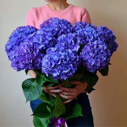 Счастье в Гортензиях: букеты цветов на заказ Flowwow
